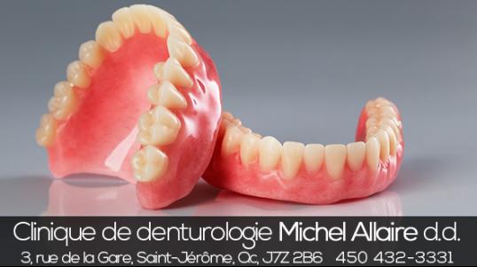 Clinique spécialisée en fabrication et réparation de prothèses dentaires. Prothèse complète, prothèse partielle, prothèse inférieure avec base molle, regarnissage et montage esthétique